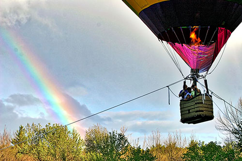 Hot Air Balloon Tether